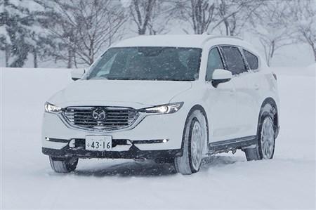 CX-8ほかに雪上試乗 一本筋が通った走りの中身に触れた