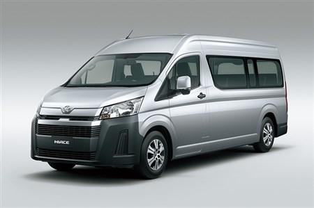 フォト:トヨタ、新開発のノーズ付きハイエースをフィリピンで公開