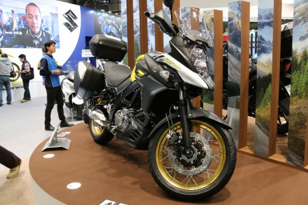 スズキブース:東京モーターサイクルショー