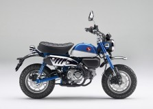 「モンキー125」に爽やかなブルーが登場。既存色とあわせて全3色から選べるように