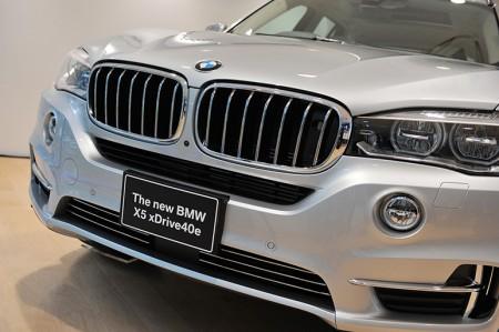 BMWがPHV攻勢へ! プラグインハイブリッド「X5 xDrive40e」を発売