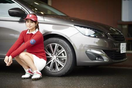 しなやかな乗り心地に女子ゴルファーも惚れる?