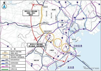 関越道~東名道 1時間が地下道12分に