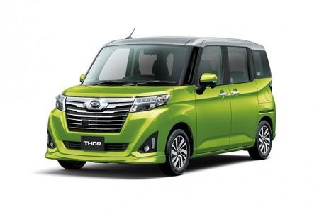3社共通の新型コンパクト・トールワゴン発売