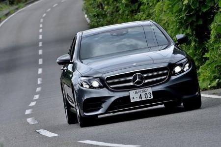 新型Eクラス 自動運転+新世代の軽さ