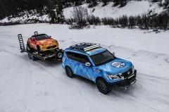 日産、スノーモービル版「Z」など冬がテーマのコンセプトカーを展示