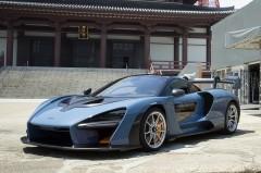 マクラーレンの高性能ロードカー、セナを日本初披露