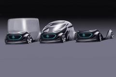 メルセデスがボディ形状を用途に応じて変更できるコンセプトカーを発表