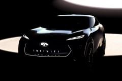 インフィニティ、新型クロスオーバーEVのコンセプトカーをデトロイトショーに出展
