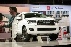 米トヨタ、TRDチューンにより魅力を高めたセコイア TRD Proを発表