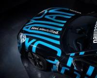ポルシェ、電動駆動スポーツカー「タイカン」を部分公開 EVになってもポルシェらしさは健在
