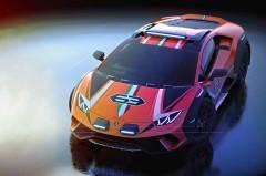 ランボルギーニ、ウラカンのオフロード仕様のコンセプトカー「ウラカン ステラート」を初披露