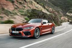 BMW、8シリーズの高性能版「M8クーペ/カブリオレ」を発表