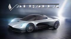 アストンマーティンの新型車の名は「ヴァルハラ」。ミッドマウントのV6ターボ+モーターのハイブリッドハイパーカー