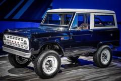 フォードがSEMAショーに50年前の「ブロンコ」を出展。見た目はクラシック、中身は最新の理由は!?