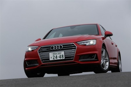 輸入車部門賞:A4シリーズ