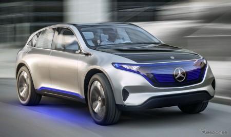 メルセデスEV化 2025年までに10車種