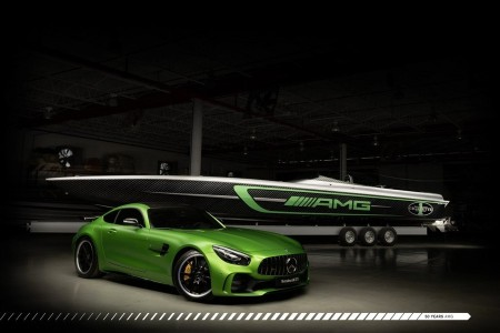 AMG GT Rの世界観を高性能ボートに