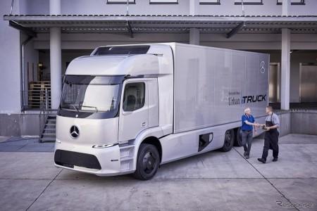 メルセデス 大型EVトラックをテスト