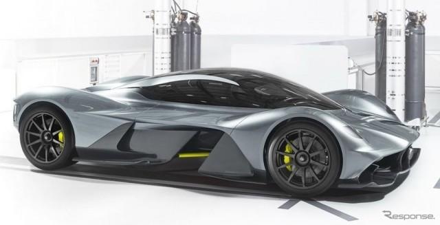 アストンハイパーカーに6.5L V12 自然吸気エンジン