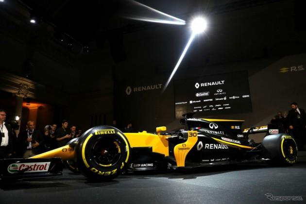 【F1】ルノーがR.S.17を発表 カラーリングを一新