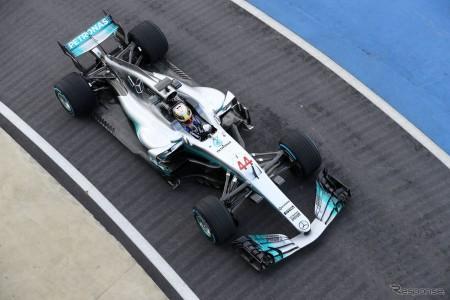 F1 メルセデスが「F1 W08」を発表