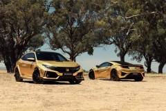 NSXから芝刈り機までが金色に ホンダ、オーストラリアで50周年記念モデルを展開