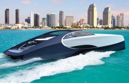 高級車メーカーのボート自慢が白熱中