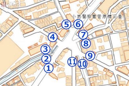 「11叉路」複雑すぎる交差点、なぜできた?