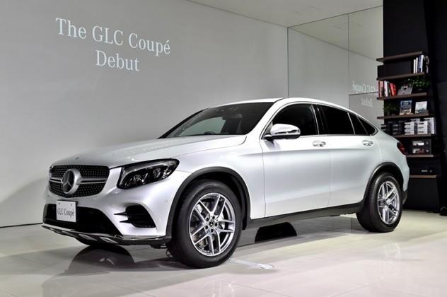 GLC クーペ発売 AMGモデルやハイブリッドも設定
