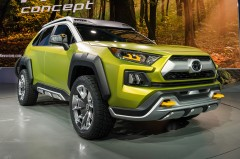 トヨタ FT-AC発表 斬新デザインの小型SUVコンセプト