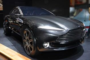 【アストンマーティン DBX コンセプト】新機軸のピュアEVコンセプトカー
