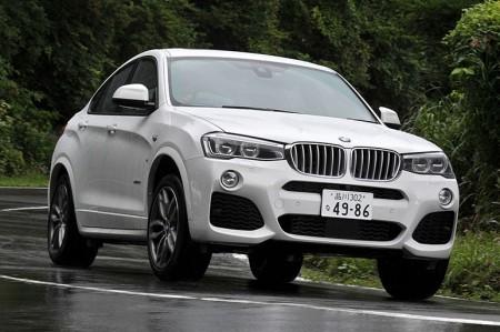 BMW X4試乗。フットワークの28iか、直6の35iか…