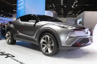トヨタ 次世代クロスオーバー C-HRコンセプト